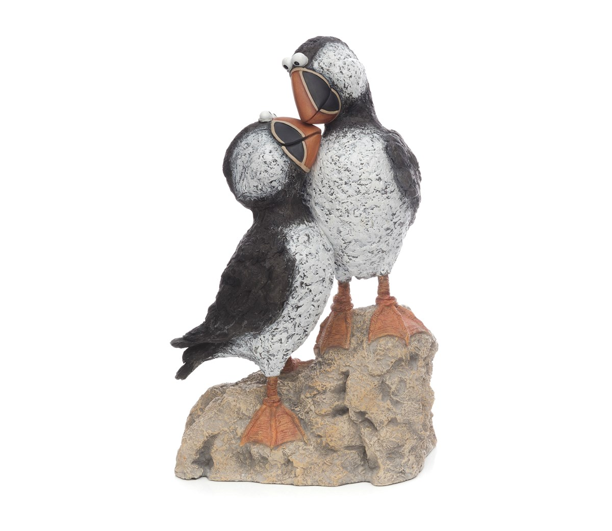 Rocky Romance by Rebecca Lardner - Cold Cast Porcelain sized 12x7 inches. Available from Whitewall Galleries